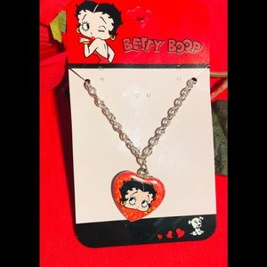 ❤️NWT💋BETTY BOOP Necklace